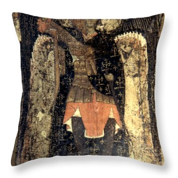 Icon: Assumption Cathedral Throw Pillow by Granger