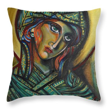 Icona Throw Pillow