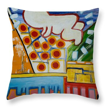 Iconic Baby Throw Pillow