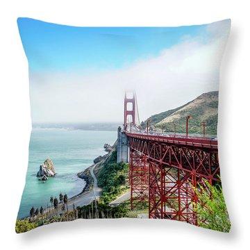 Iconic Bridge Throw Pillow