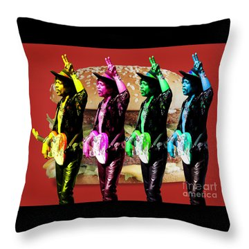 Iconic Experience Throw Pillow by Keith Dillon