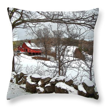 Iconic New Hampshire Throw Pillow