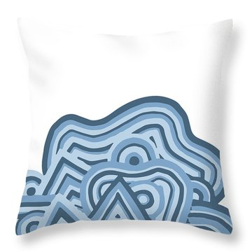 Icy Fun Throw Pillow