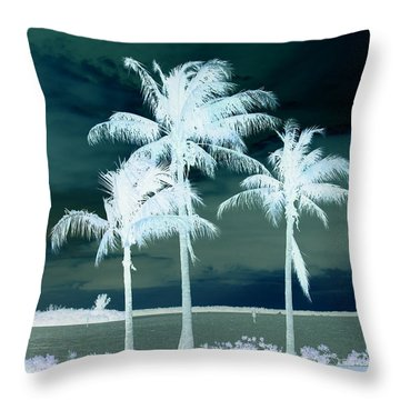 Icy Warm Throw Pillow