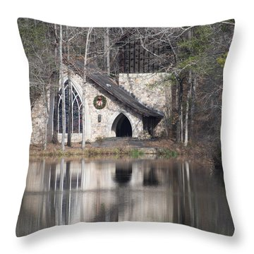 Ida Cason Callaway Memorial Chapel Throw Pillow