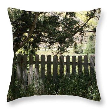 Idaho Farm1 Throw Pillow by Cynthia Powell