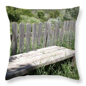 Idaho Farm2 Throw Pillow by Cynthia Powell