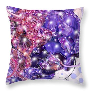 Idea Machine Throw Pillow