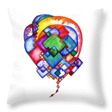 Ideas Born Throw Pillow