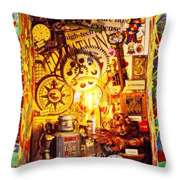 Ideas Throw Pillow by Garry Gay