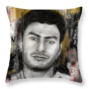 Ideas  Throw Pillow by Sladjana Lazarevic