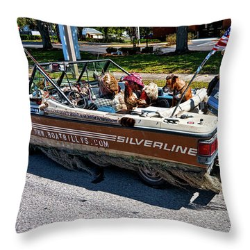Identity Crisis Throw Pillow by Christopher Holmes