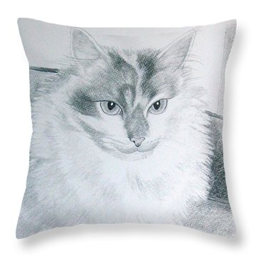 Idget Throw Pillow by Joette Snyder
