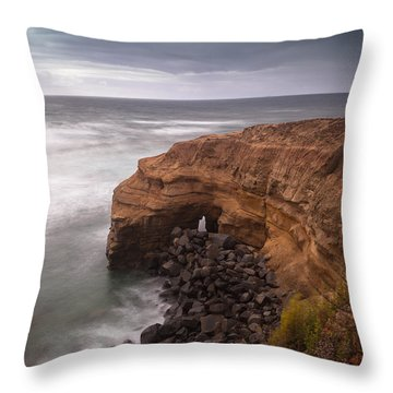 Throw Pillow featuring the photograph Idle Times by Ryan Weddle