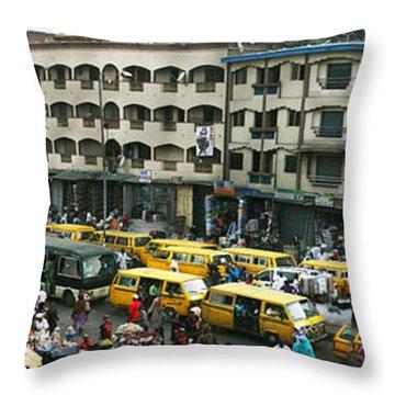 Idumota, Lagos Throw Pillow