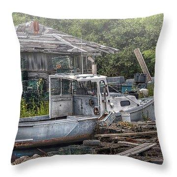 Idyll Throw Pillow by Richard Bean
