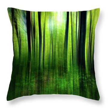 If A Tree Throw Pillow