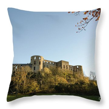 Throw Pillow featuring the photograph If I Could Speak......... by Kennerth and Birgitta Kullman