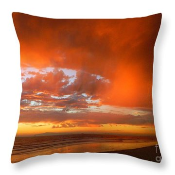 If I Could Touch The Sky Throw Pillow by Everette McMahan jr