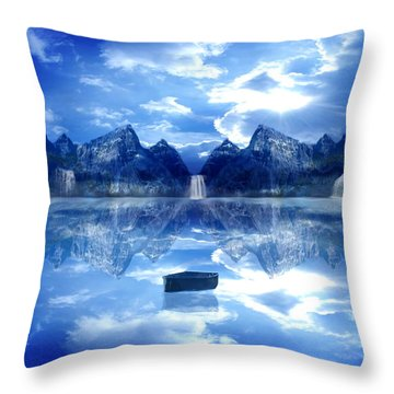 If I Could Turn Back Time Throw Pillow