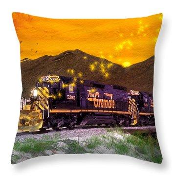 If I Had A Magic Wand Throw Pillow