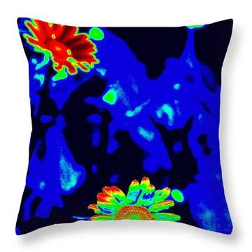 If Love Was A Flower Throw Pillow