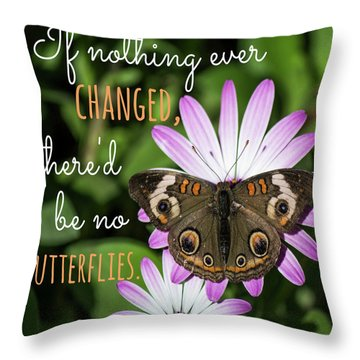 If Nothing Ever Changed Throw Pillow
