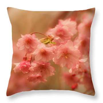If Only For A Moment Throw Pillow by Angie Tirado