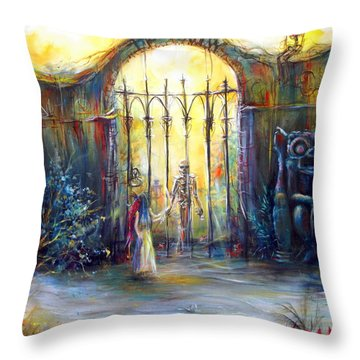 ...if Only Throw Pillow by Heather Calderon