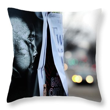 If Only U Could See Throw Pillow