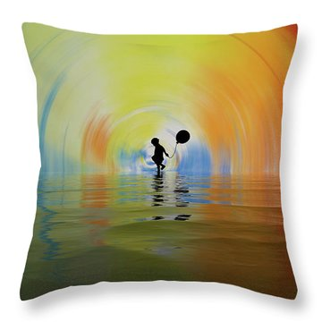 If You Are Reading This... Congratulations... You Are Alive Throw Pillow