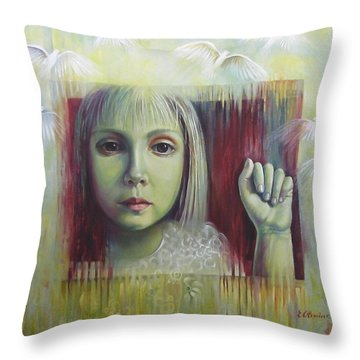 If You Have A Dream... Throw Pillow by Elena Oleniuc
