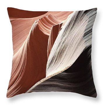 Random Splendor Throw Pillow