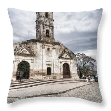 Iglesia De Santa Ana Throw Pillow