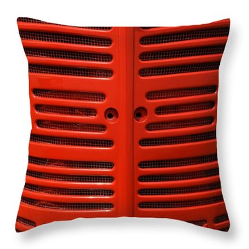 Ih Front Throw Pillow by Meagan  Visser