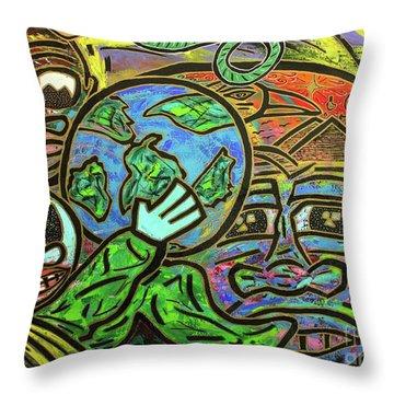 Ikembe's Dream Throw Pillow
