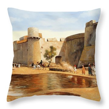 Il Castello Throw Pillow