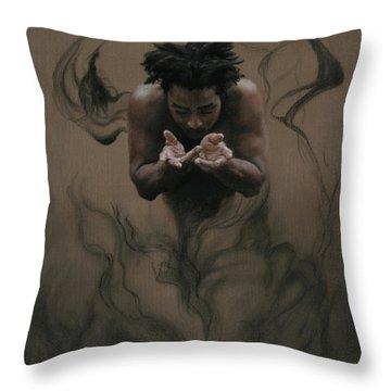 Il Dono The Gift Throw Pillow by Kelly Borsheim
