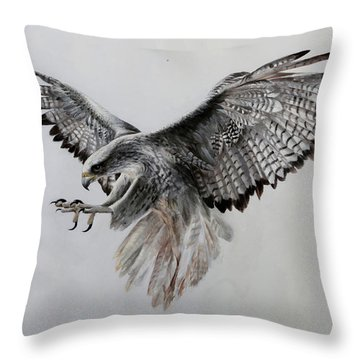 Hawks Throw Pillows
