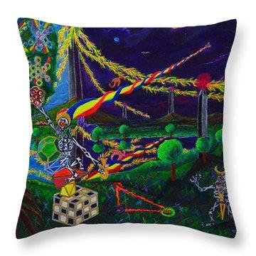 Il Paradiso Il Modello Della Genesi Throw Pillow