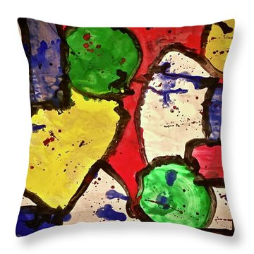Ile De Montreal Throw Pillow