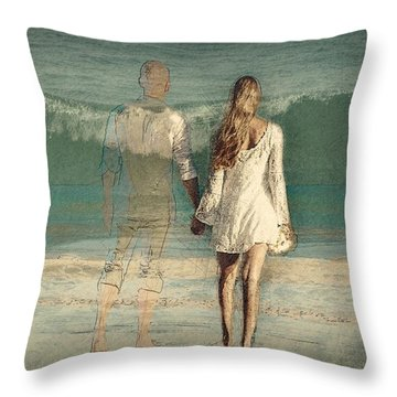 I'll Always Be Beside You Throw Pillow