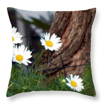 I'll Be Your Daisy Throw Pillow