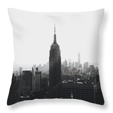 I'll Take Manhattan  Throw Pillow by J Montrice