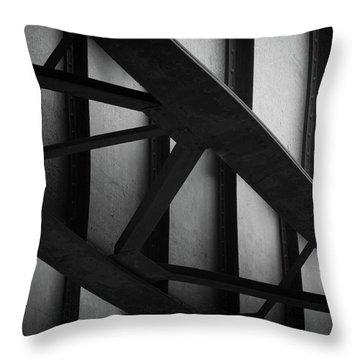 Illinois Terminal Bridge Throw Pillow
