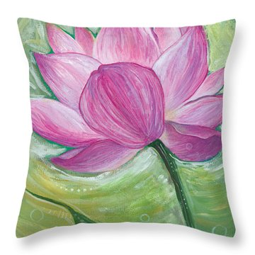 Illuminate Throw Pillow by Tanielle Childers