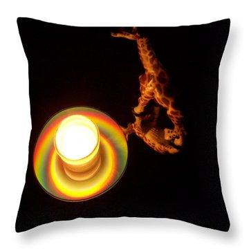 Illuminated Objects Throw Pillow