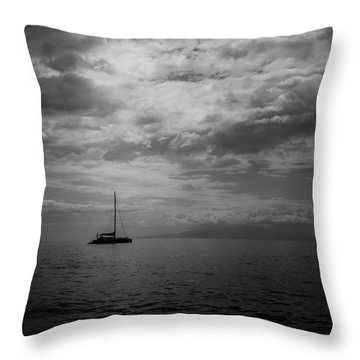 Illumination Throw Pillow by Chris McKenna