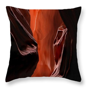 Illuminations Throw Pillow by Mike  Dawson