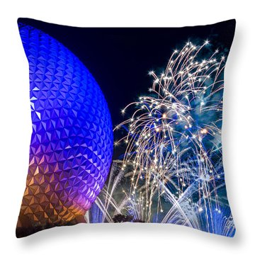 Illuminations Reflections Of Earth Throw Pillow